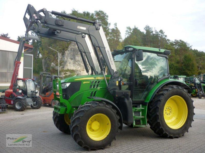 Traktor des Typs John Deere 6105 R, Gebrauchtmaschine in Pegnitz-Bronn (Bild 1)