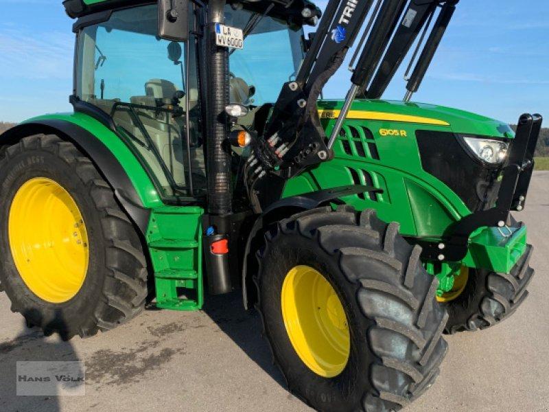 Traktor des Typs John Deere 6105 R, Gebrauchtmaschine in Eching (Bild 4)