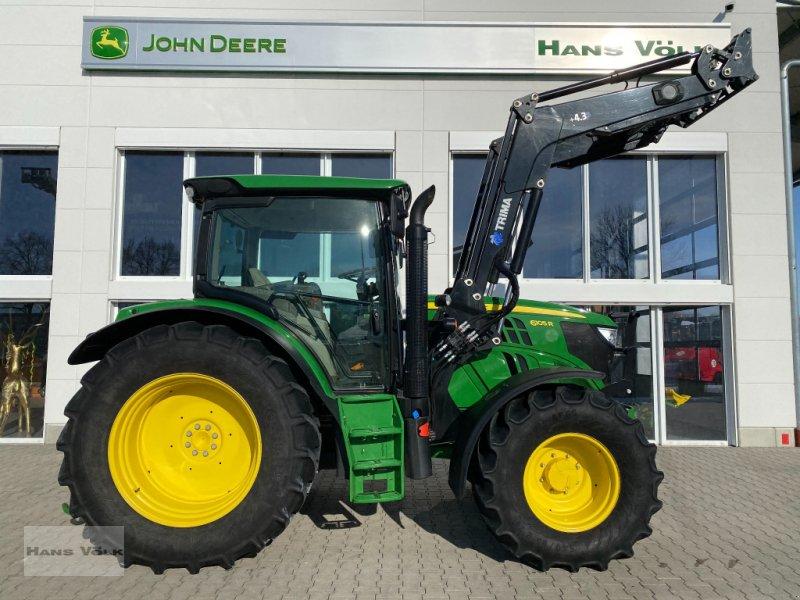 Traktor des Typs John Deere 6105 R, Gebrauchtmaschine in Eching
