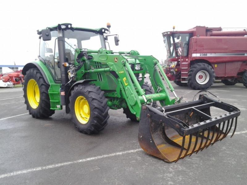 Traktor typu John Deere 6105R, Gebrauchtmaschine w ANTIGNY (Zdjęcie 1)