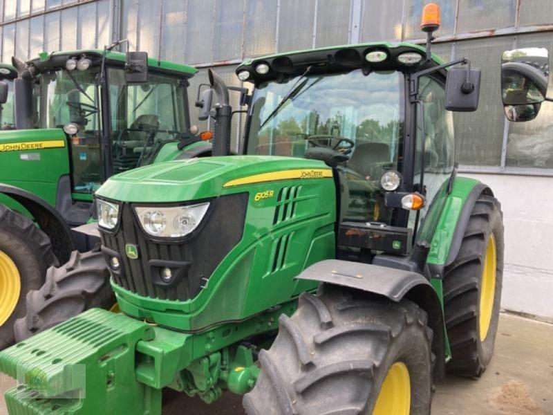 Traktor типа John Deere 6105R, Gebrauchtmaschine в Salsitz (Фотография 1)