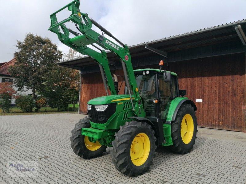 Traktor des Typs John Deere 6115 M, Gebrauchtmaschine in Moosthenning (Bild 1)