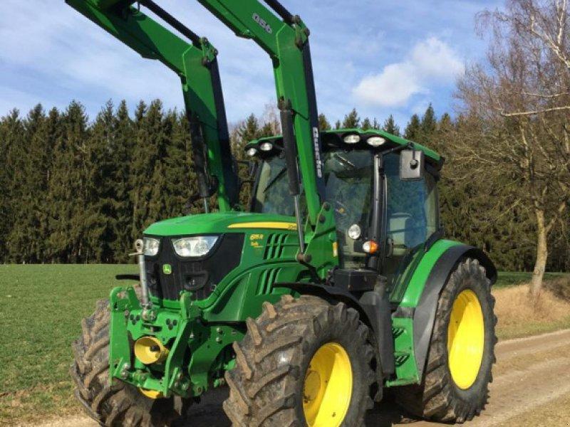 Traktor des Typs John Deere 6115 R, Gebrauchtmaschine in Schrobenhausen (Bild 1)