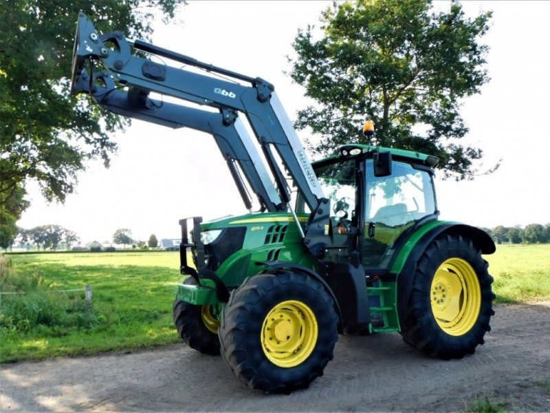 Traktor a típus John Deere 6115R, Gebrauchtmaschine ekkor: Staphorst (Kép 1)