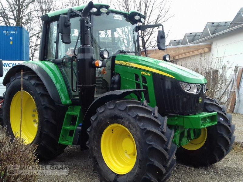 Traktor a típus John Deere 6120 M, Neumaschine ekkor: Höhenkirchen-Siegertsbrunn (Kép 1)