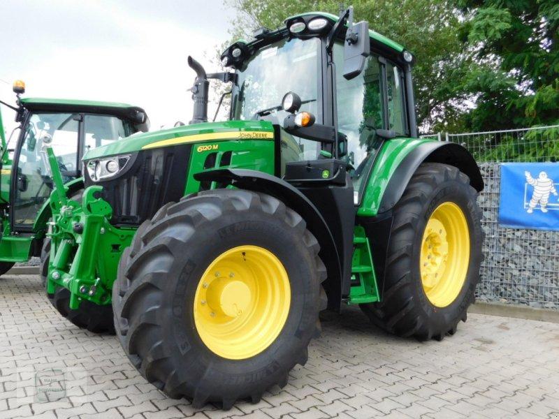 Traktor tipa John Deere 6120 M, Neumaschine u Gross-Bieberau (Slika 1)