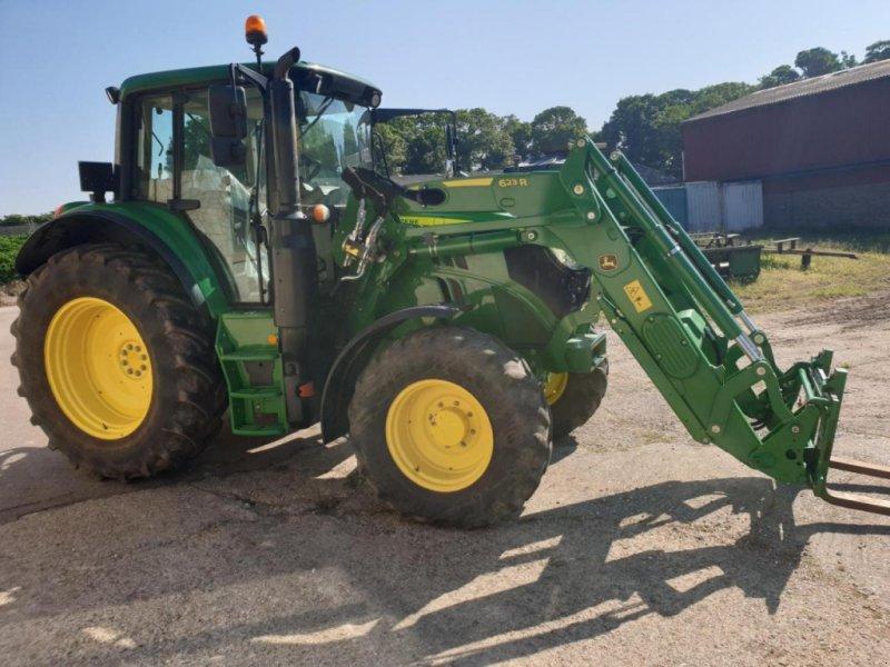 Traktor a típus John Deere 6120M, Gebrauchtmaschine ekkor:  (Kép 1)