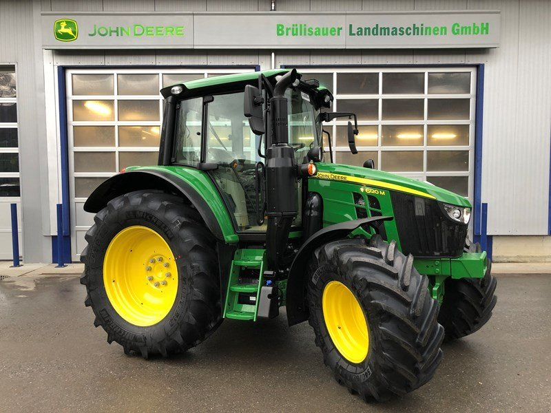 Traktor a típus John Deere 6120M, Ausstellungsmaschine ekkor: Eichberg (Kép 1)
