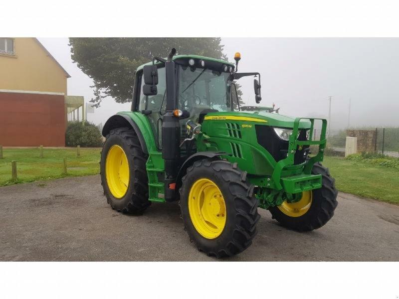 Traktor a típus John Deere 6120M, Gebrauchtmaschine ekkor: Pencran (Kép 1)