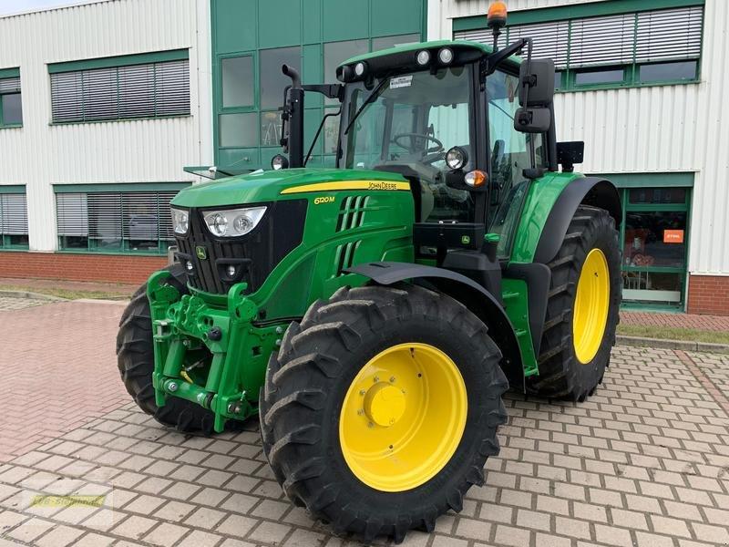 Traktor a típus John Deere 6120M, Vorführmaschine ekkor: Barsinghausen OT Groß Munzel (Kép 1)