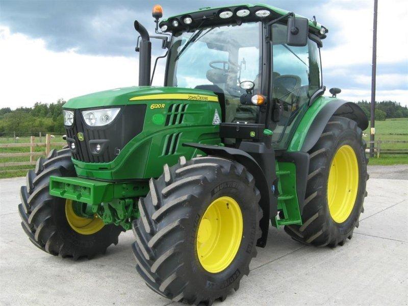 Traktor tipa John Deere 6120R Premium m/Eco-shift og krybegear, Gebrauchtmaschine u Toftlund (Slika 1)