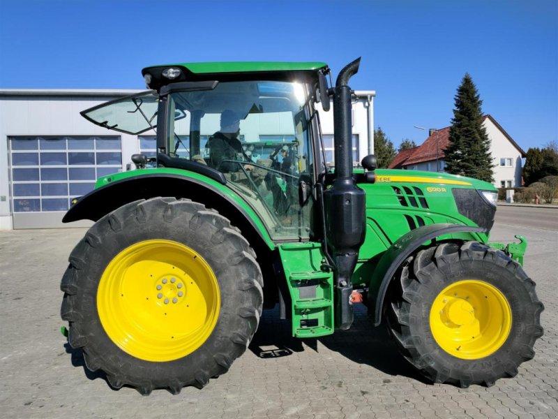 Traktor des Typs John Deere 6120R, Gebrauchtmaschine in Schopfloch (Bild 1)