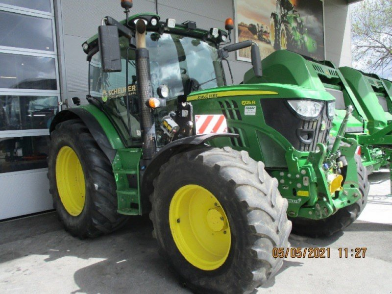 Traktor typu John Deere 6125 R, Gebrauchtmaschine w Lengnau (Zdjęcie 1)