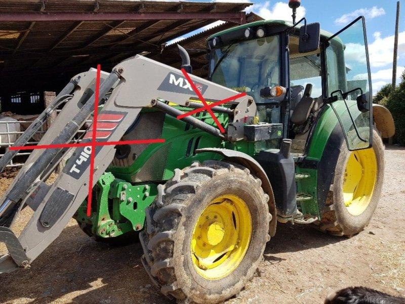 Traktor des Typs John Deere 6125M, Gebrauchtmaschine in CASTETIS (Bild 1)