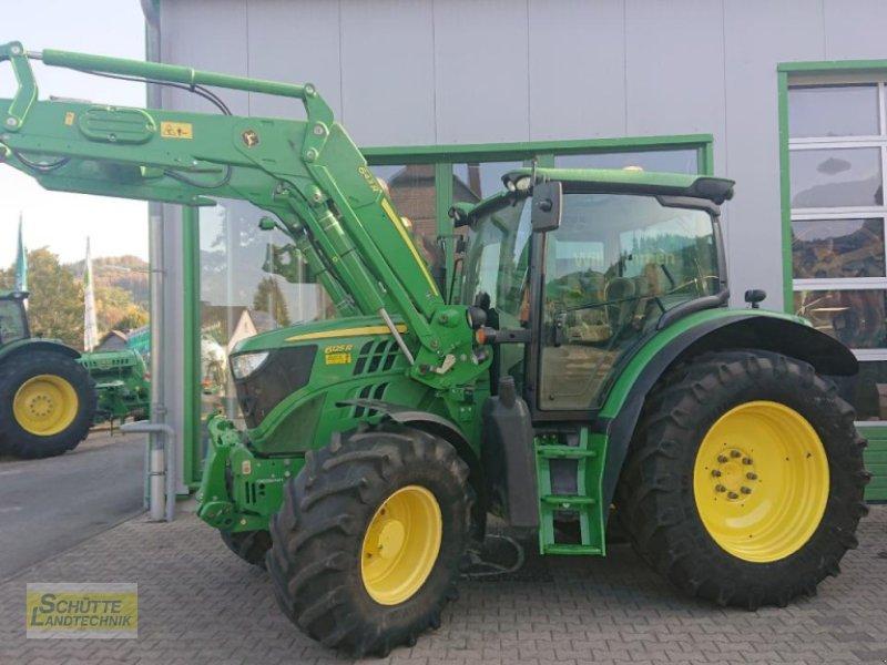 Traktor des Typs John Deere 6125R  Premium, Gebrauchtmaschine in Marsberg-Giershagen (Bild 1)