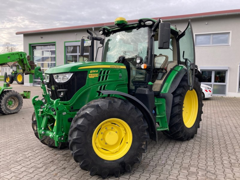 Traktor des Typs John Deere 6130 R, Gebrauchtmaschine in Burglengenfeld (Bild 1)