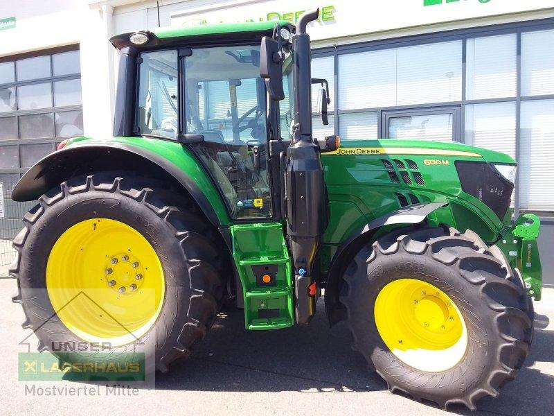 Traktor des Typs John Deere 6130M Premium, Vorführmaschine in Bergland (Bild 1)