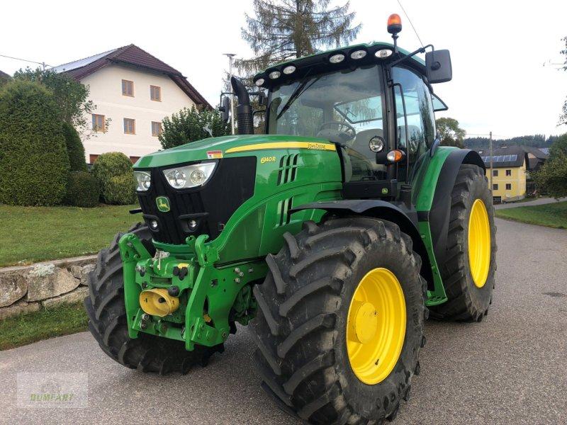 Traktor des Typs John Deere 6140 R, Gebrauchtmaschine in Bad Leonfelden (Bild 1)