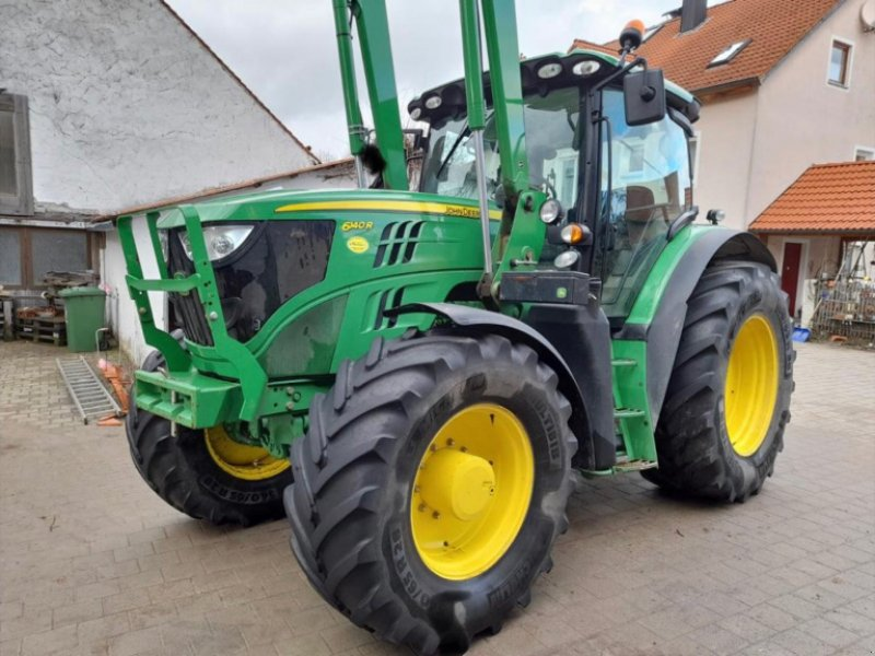Traktor des Typs John Deere 6140 R, Gebrauchtmaschine in Bergen (Bild 1)