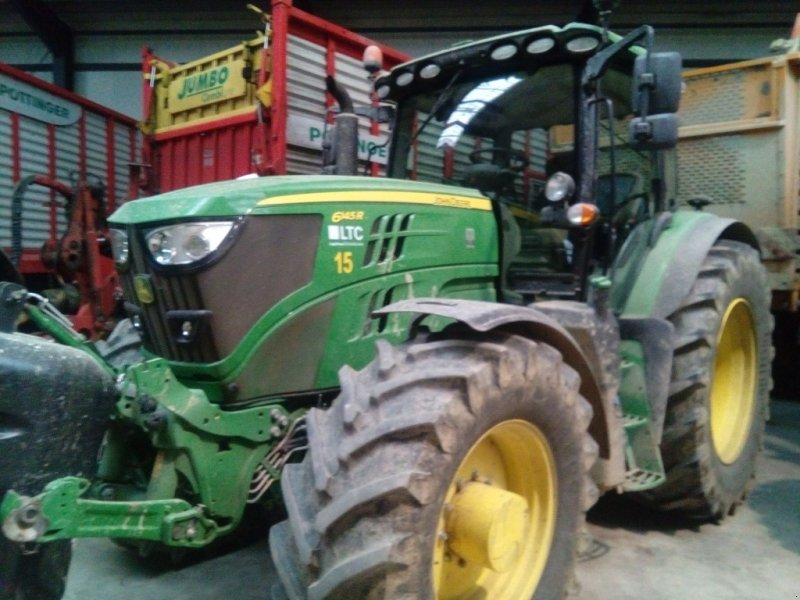 Traktor des Typs John Deere 6145 R, Gebrauchtmaschine in Gampern (Bild 1)