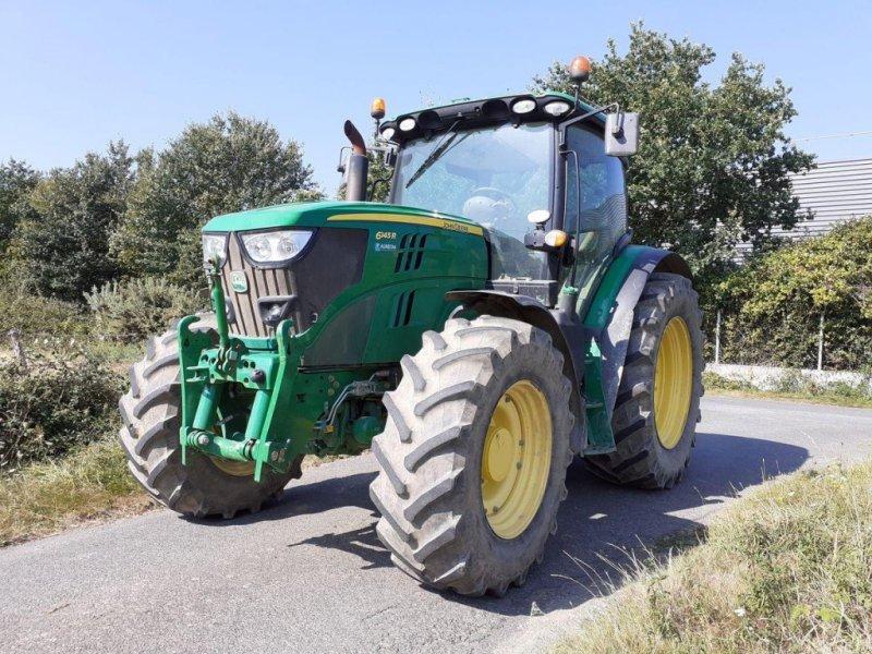 Traktor типа John Deere 6145R DIRECT DRIVE, Gebrauchtmaschine в BEAUPREAU (Фотография 1)