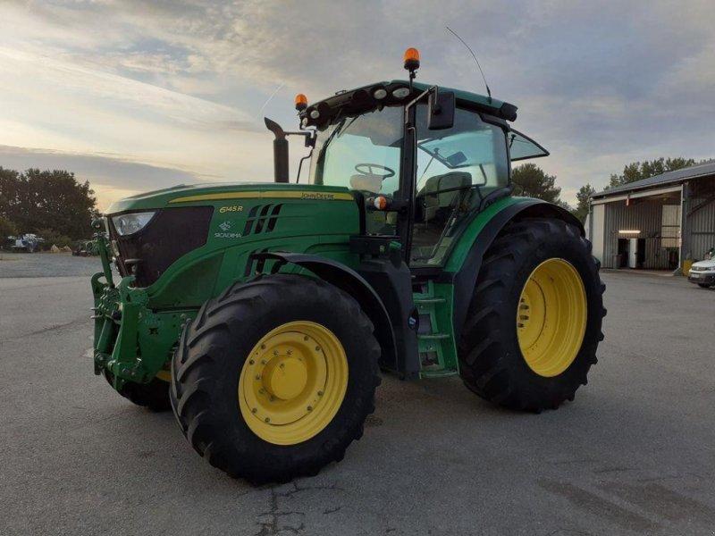 Traktor tip John Deere 6145R, Gebrauchtmaschine in LES TOUCHES (Poză 1)