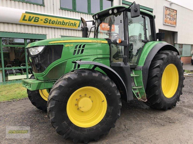 Traktor des Typs John Deere 6150M AutoQuad Plus EcoShift 40km/h, Gebrauchtmaschine in Barum/Tätendorf-Eppensen (Bild 1)