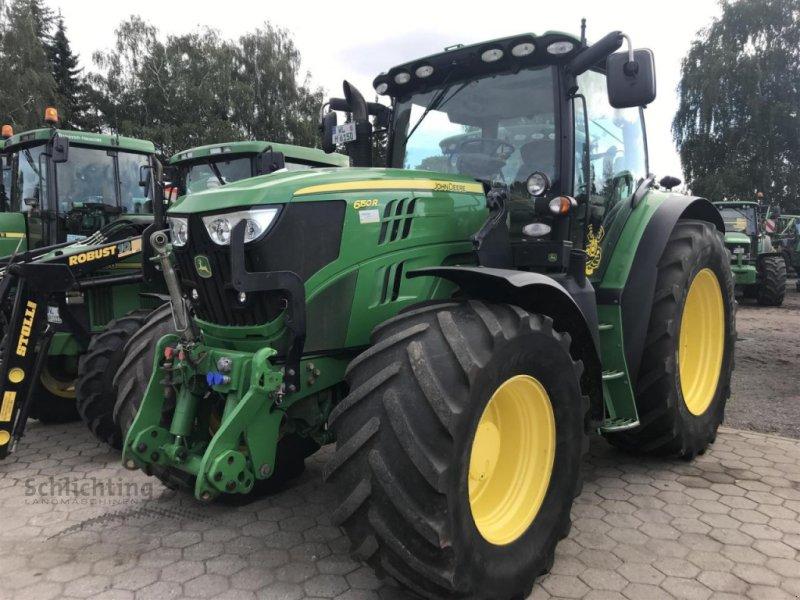 Traktor типа John Deere 6150R AP40 AUTOTR.VO, Gebrauchtmaschine в Marxen (Фотография 1)
