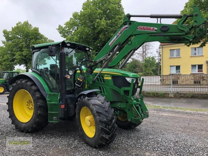 Traktor типа John Deere 6150R AutoPowr 50km/h mit Stoll Frontlader FZ50.1, Gebrauchtmaschine в Barsinghausen OT Gro (Фотография 2)