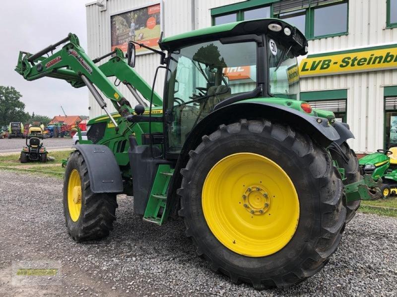 Traktor типа John Deere 6150R AutoPowr 50km/h mit Stoll Frontlader FZ50.1, Gebrauchtmaschine в Barsinghausen OT Gro (Фотография 4)