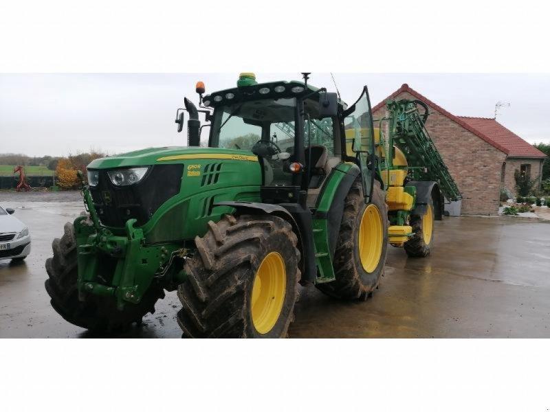 Traktor типа John Deere 6150R, Gebrauchtmaschine в ESCAUDOEUVRES (Фотография 1)