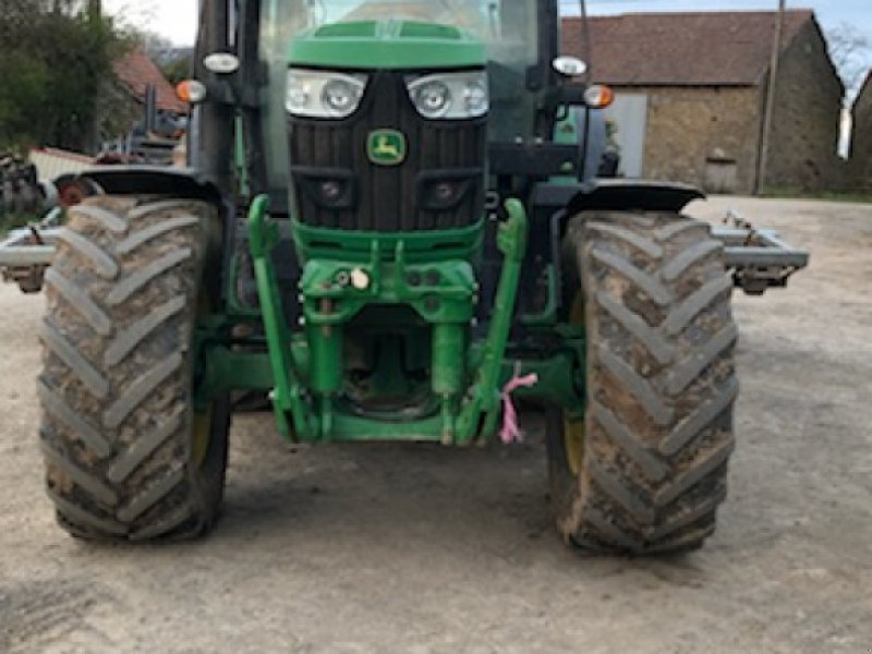 Traktor типа John Deere 6150R, Gebrauchtmaschine в Gueret (Фотография 4)