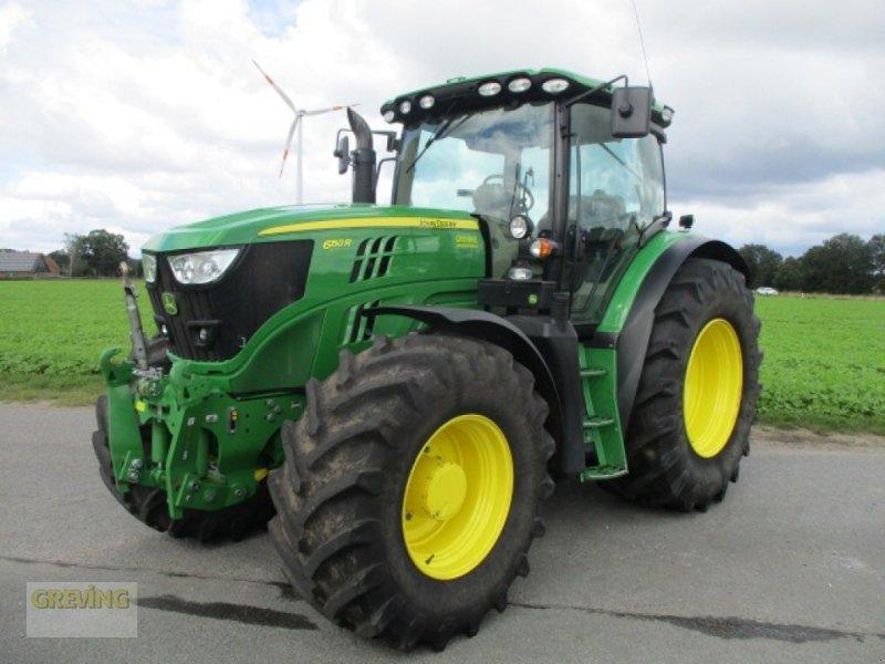 Traktor des Typs John Deere 6150R, Gebrauchtmaschine in Wettringen (Bild 1)