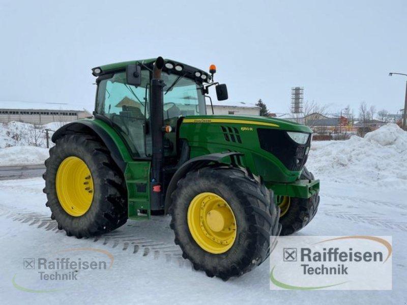 Traktor des Typs John Deere 6150R, Gebrauchtmaschine in Ebeleben (Bild 1)
