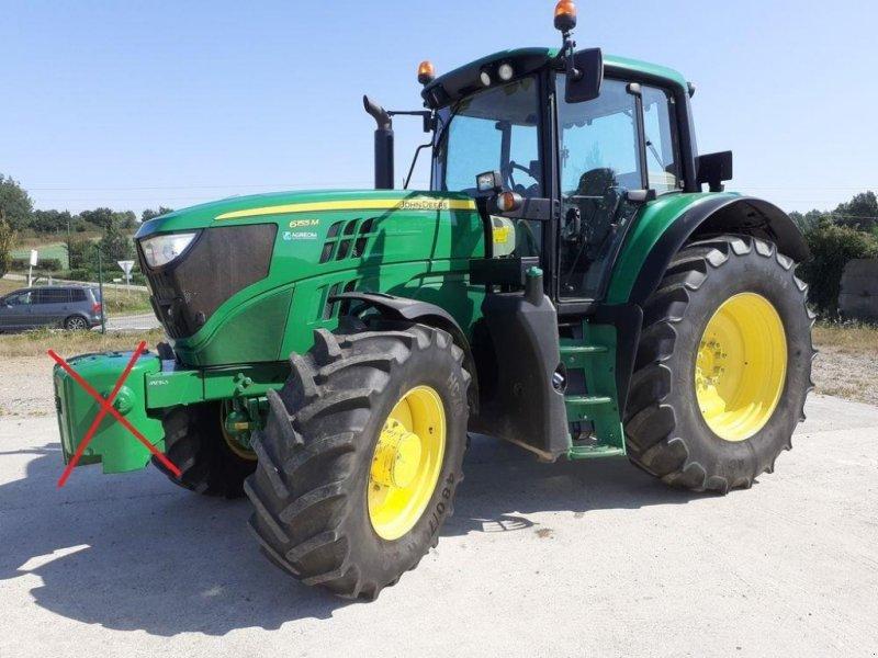 Traktor типа John Deere 6155 M, Gebrauchtmaschine в LES TOUCHES (Фотография 1)