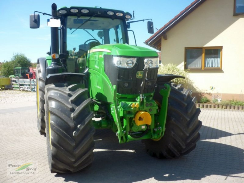 Traktor des Typs John Deere 6155 R, Gebrauchtmaschine in Pegnitz-Bronn (Bild 2)