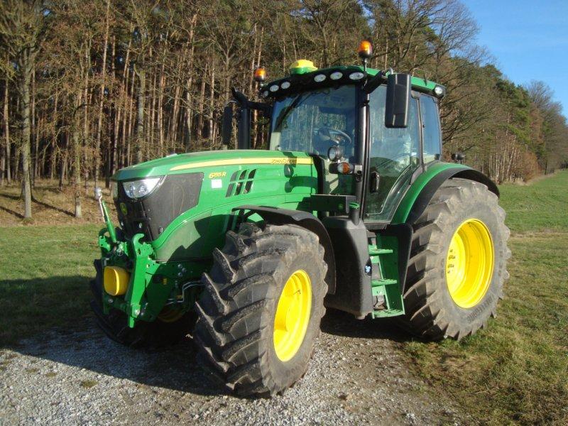Traktor des Typs John Deere 6155 R, Gebrauchtmaschine in Emskirchen (Bild 1)