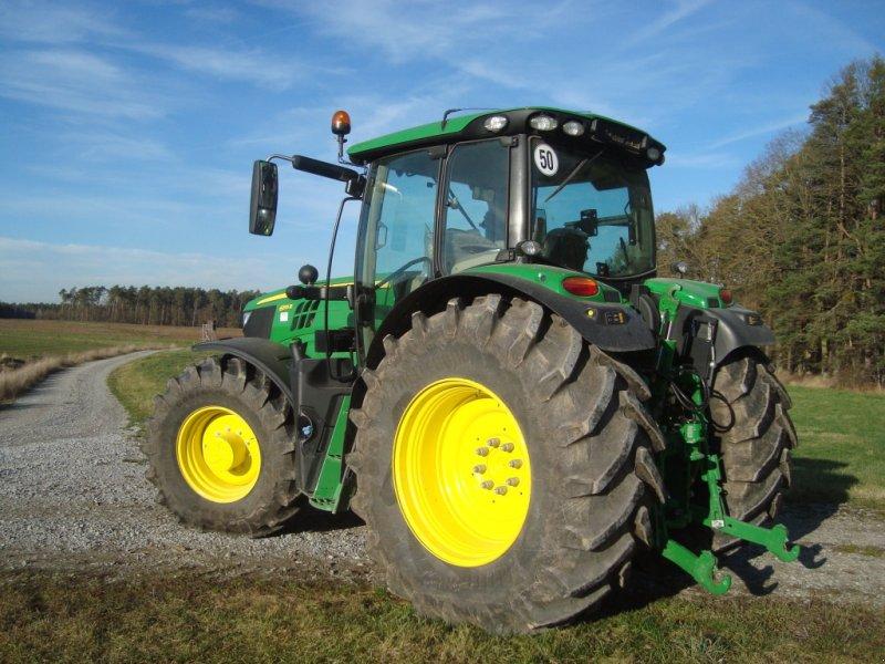 Traktor des Typs John Deere 6155 R, Gebrauchtmaschine in Emskirchen (Bild 4)