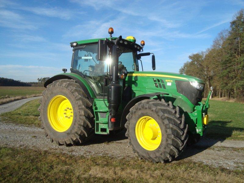 Traktor des Typs John Deere 6155 R, Gebrauchtmaschine in Emskirchen (Bild 3)