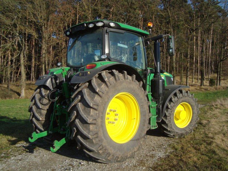 Traktor des Typs John Deere 6155 R, Gebrauchtmaschine in Emskirchen (Bild 5)