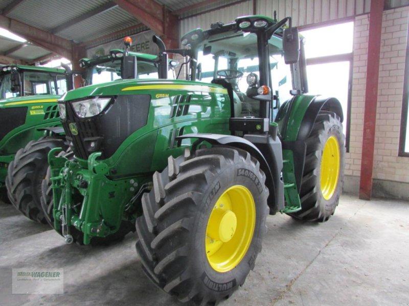 Traktor типа John Deere 6155M  CQ+40, Gebrauchtmaschine в Bad Wildungen-Wega (Фотография 1)