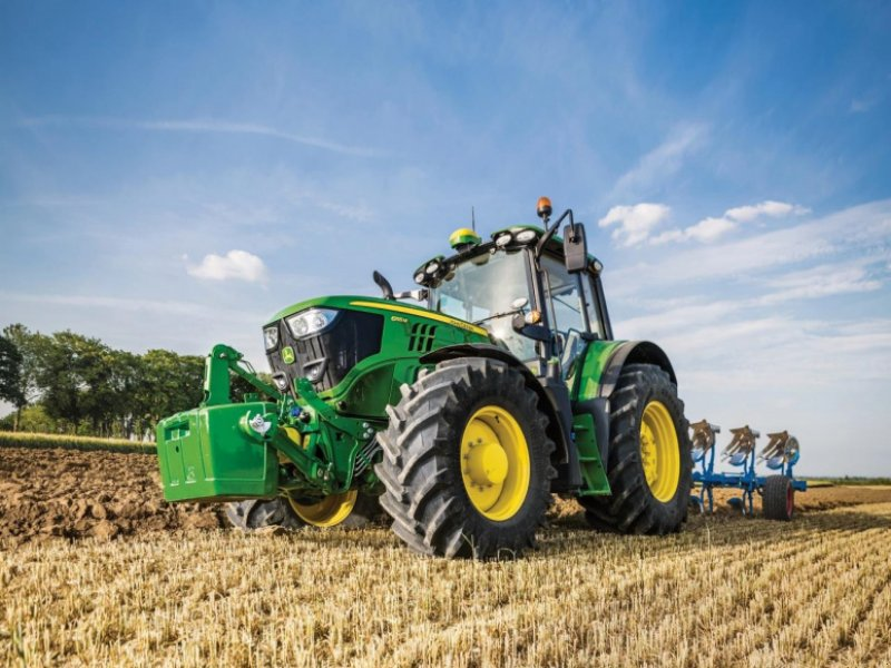 Traktor des Typs John Deere 6155M, Gebrauchtmaschine in Videbæk (Bild 1)