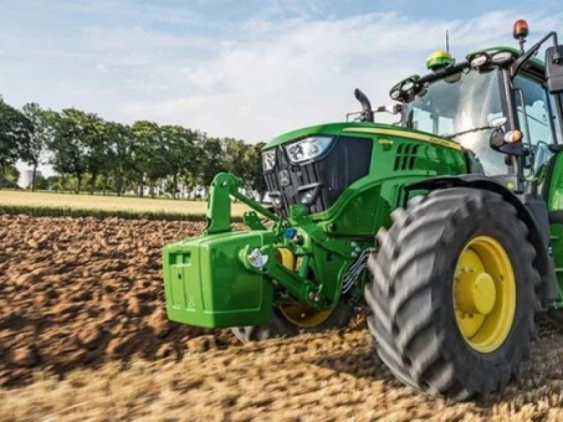 Traktor типа John Deere 6155M, Gebrauchtmaschine в Videbæk (Фотография 1)