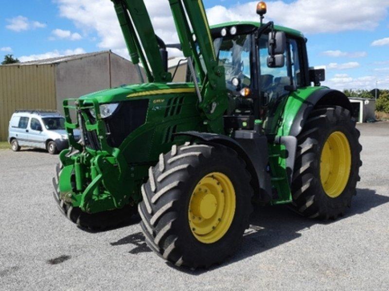 Traktor типа John Deere 6155M, Gebrauchtmaschine в DOMFRONT (Фотография 3)