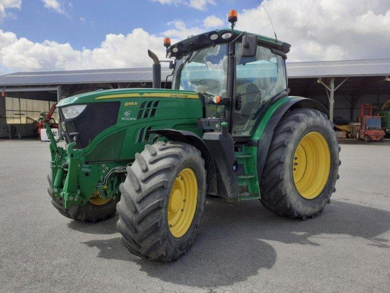 Traktor des Typs John Deere 6155R, Gebrauchtmaschine in LES TOUCHES (Bild 1)