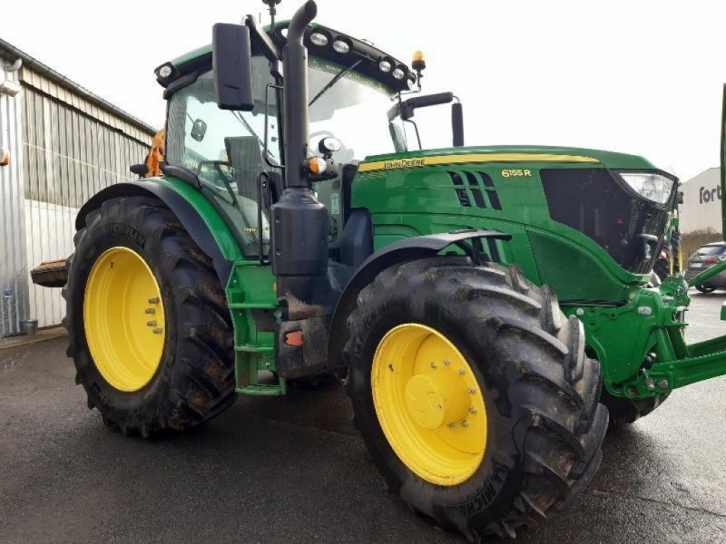Traktor типа John Deere 6155R, Gebrauchtmaschine в SAINT GENEST D'AMBIERE (Фотография 1)