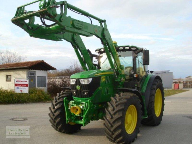 Traktor des Typs John Deere 6155R, Gebrauchtmaschine in Unterneukirchen (Bild 1)