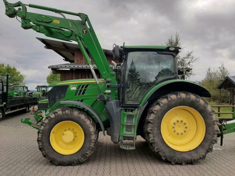 Traktor типа John Deere 6170 R, Gebrauchtmaschine в Gillenfeld (Фотография 1)