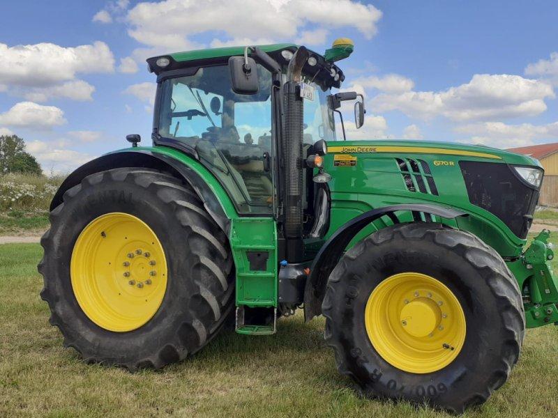 Traktor типа John Deere 6170 R, Gebrauchtmaschine в Ansbach  (Фотография 9)