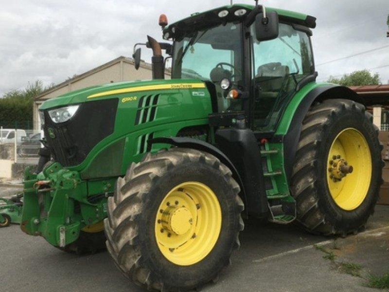 Traktor des Typs John Deere 6190 R, Gebrauchtmaschine in MORMANT (Bild 1)